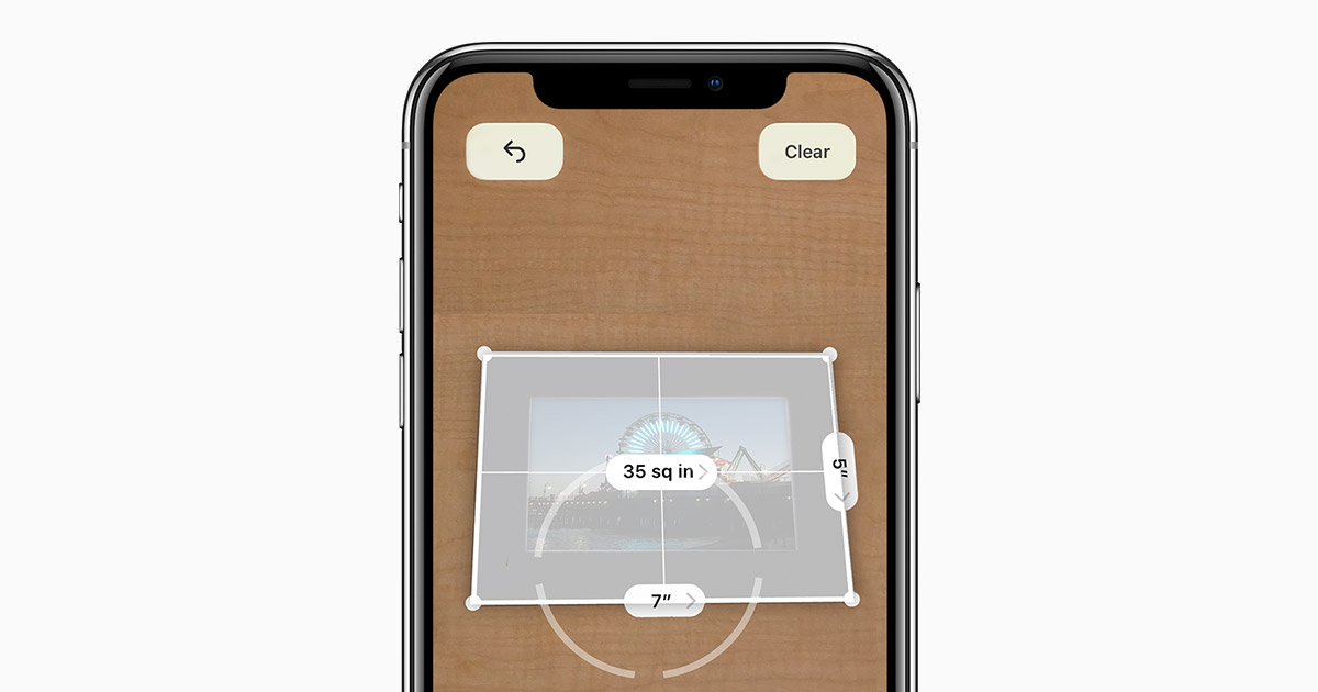 iOS 12 Measurement App